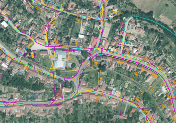 Mapa inženýrských sítí