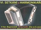 Pozvání na VI. Setkání s harmonikáři v Horních Bojanovicích