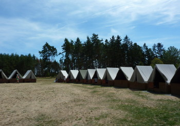 Táborové zprávičky den 1.  – příjezd