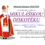MIKULÁŠSKÁ DISKOTÉKA 2018