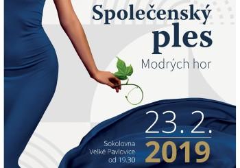 Pozvánka – Společenský ples Modrých hor