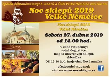 Pozvánka – Noc sklepů – Velké Němčice