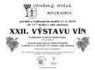 Zveme vás na XXII. Výstavu vín