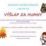 Plakát Výšlap za humny_2019