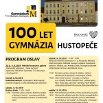 plakát - 100 let gymnazia