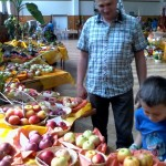 Výstava ovoce, zeleniny a květin 2014