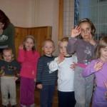 Cvičení s malými dětmi 2011/2012